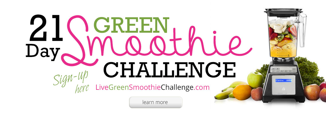 Blender Babes 21 Day Green Smoothie Challenge.
