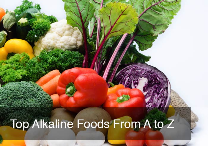 Top Alkaline Foods From A to Z by @BlenderBabes