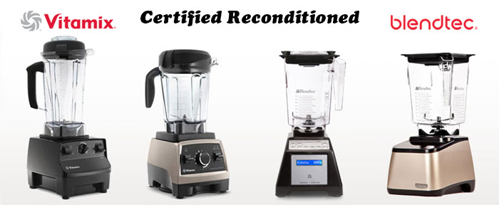 Blendtec vs Vitamix Certified Refurbished Blenders from @BlenderBabes