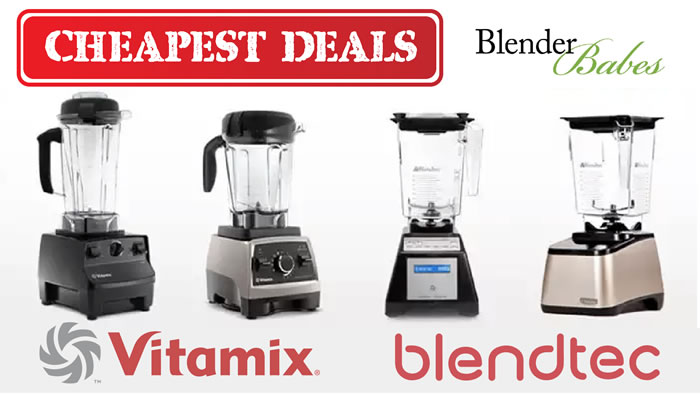 Certified Refurbished Blendtec vs Vitamix