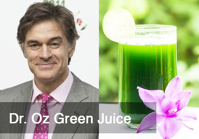 Dr Oz Green Juice Recipe by @BlenderBabes