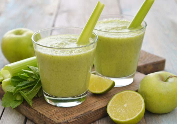 Dr. Oz 3 Day Detox Lunch Smoothie by @BlenderBabes