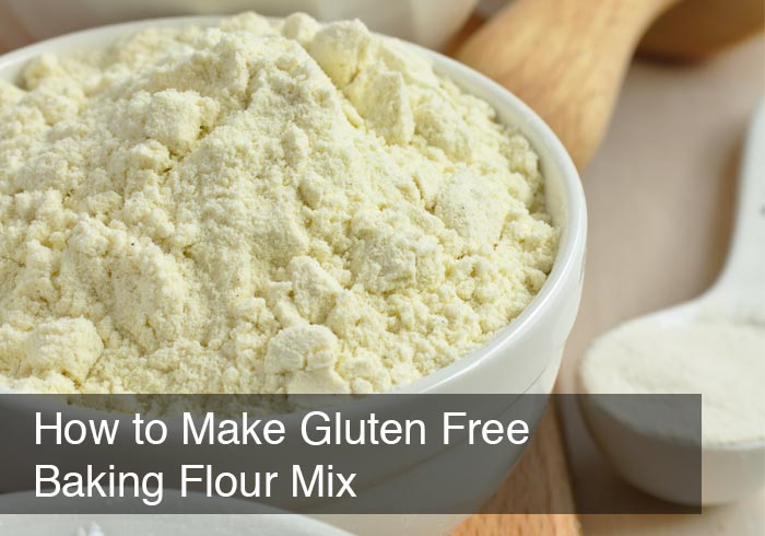 How to Make Gluten Free Baking Flour Mix by @BlenderBabes