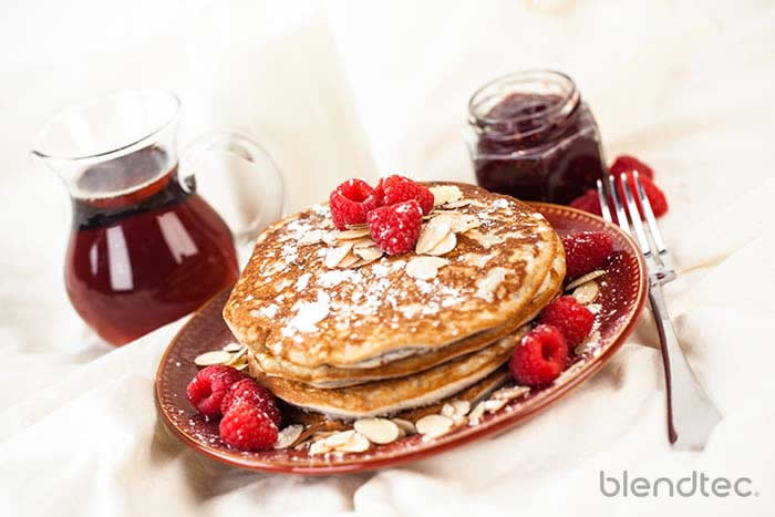 Gluten Free Waffle and Pancake Batter Recipe by @BlenderBabes