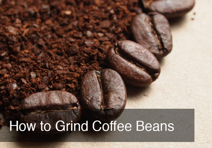 How to Grind Coffee Beans by @BlenderBabes
