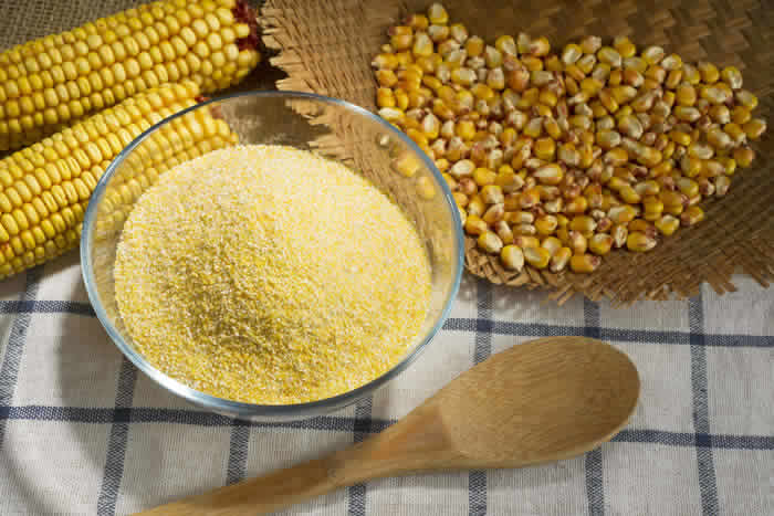 How to Make Fresh Cornmeal by @BlenderBabes