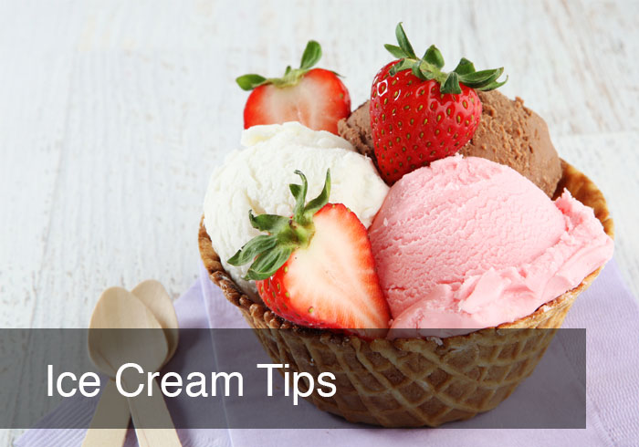 ICE CREAM TIPS by @BlenderBabes