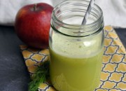 Immunity Boosting Fennel Apple Juice Recipe by @BlenderBabes