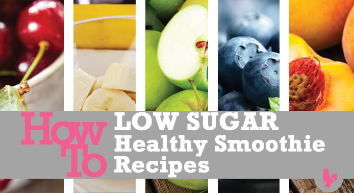 low sugar fruit healthy smoothie recipes with frozen fruit
