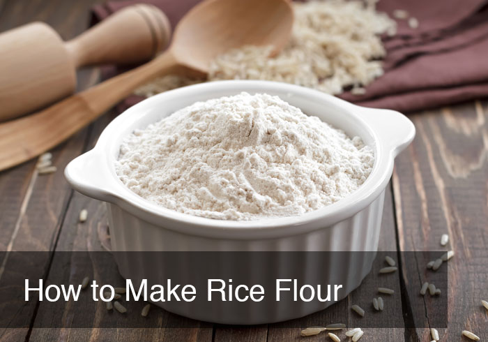 How to Make Rice Flour by @BlenderBabes