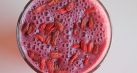 The Ultimate Recovery Smoothie by VEGA Made in a Blendtec or Vitamix blender