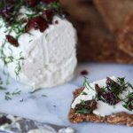 Vegan Cranberry Dill Goat Cheese Recipe