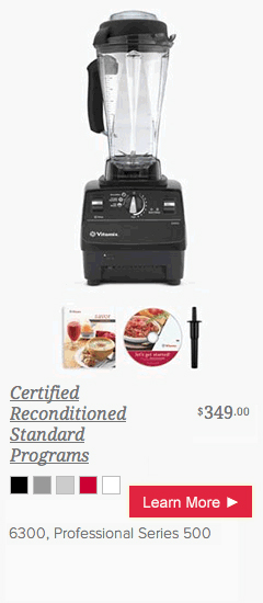 Vitamix Certified Reconditionaed Series 500 from @BlenderBabes