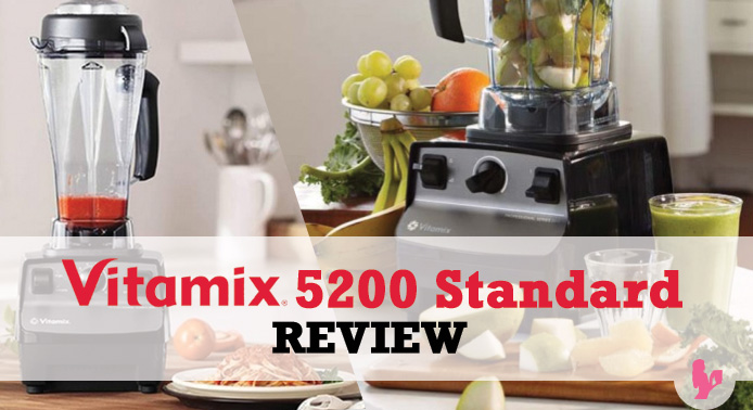 Comprehensive Vitamix 5200 Standard Review by @BlenderBabes