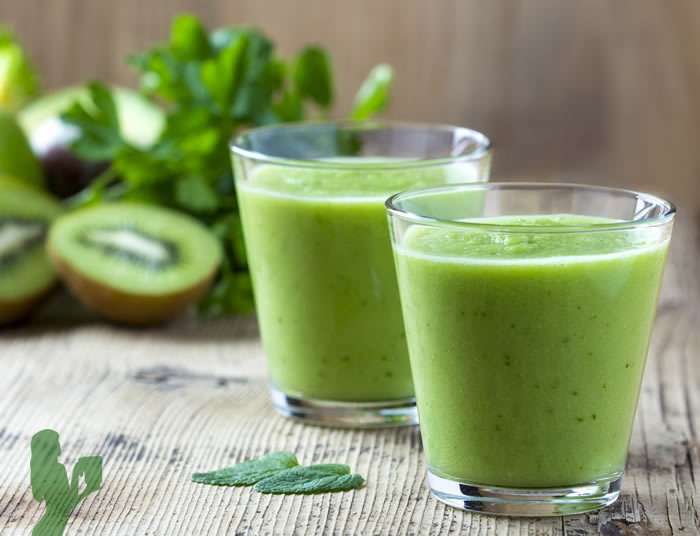 Weight Loss Kiwi Ginger Green Smoothie in a Blendtec or Vitamix by @BlenderBabes
