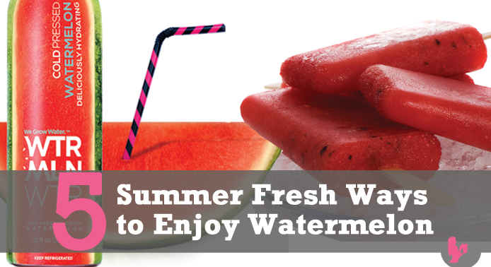 5 Summer Fresh Ways to Enjoy Watermelon by @BlenderBabes