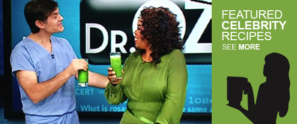 Dr Oz Green Juice Recipe made with a Blendtec or Vitamix Blender