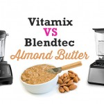 How to Make Almond Butter Vitamix vs Blendtec by Blender Babes