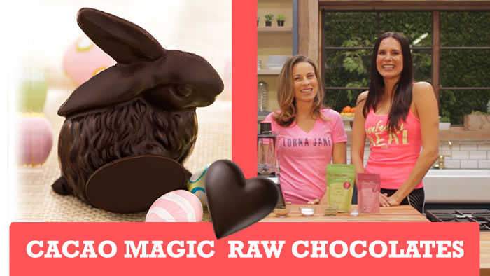 Cacao Magic Raw Chocolates Recipe via @BlenderBabes