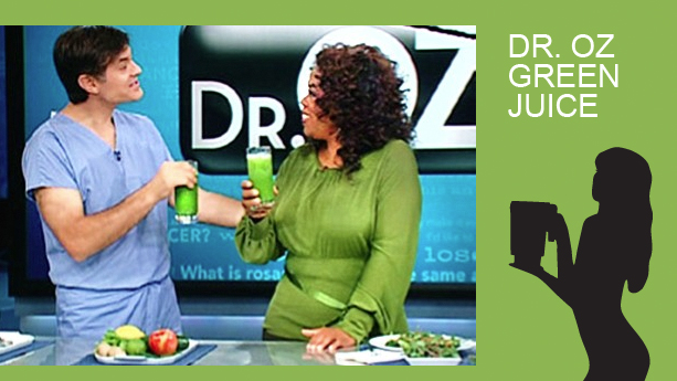 Dr Oz green juice drink recipe in a blendtec or vitamix blender