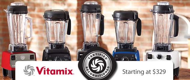 Best Deal on Vitamix Blenders without a coupon from Blender Babes