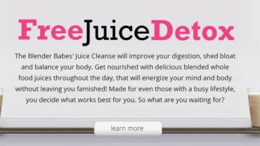 Blender Babes Free Juice Detox