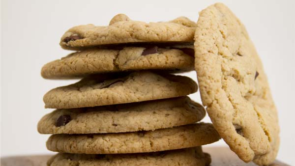 Gluten-Free Chocolate Chip Cookies Recipe in a Blendtec or Vitamix blender