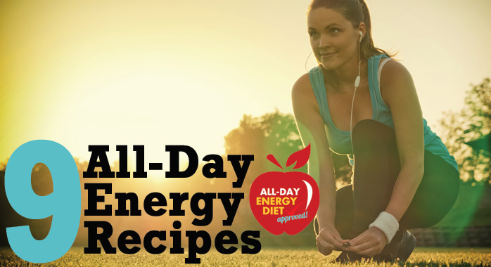 9 All-Day Energy Award Winning Recipes + Golden Apple Prize