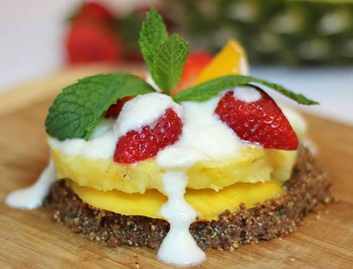 Vegan and Gluten-Free Fruit Tart