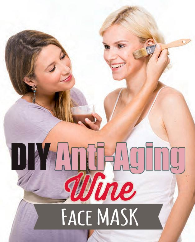 DIY Anti-Aging Face Mask from Recipe for Radiance #facemask #eggmask #winerecipes #naturalfacemask #blenderbabes