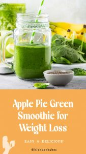 Apple Pie Smoothie for Weight Loss