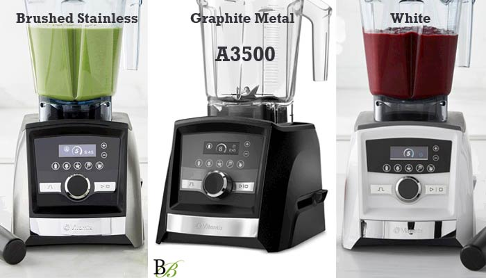 Vitamix Ascent 3500 Colors