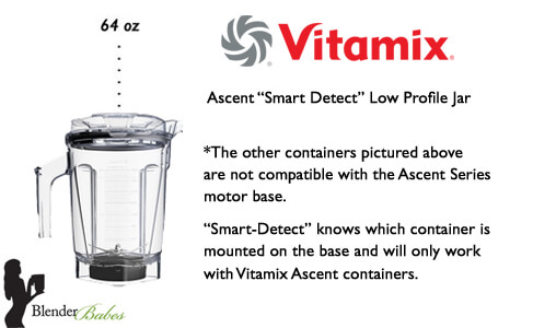 Which Vitamix to Buy Vitamix Ascent Container Smart Detect - #1 Vitamix Blenders Review by @BlenderBabes