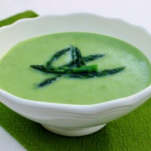Asparagus Leek Soup Beauty Detox recipe by Kimber Snyder