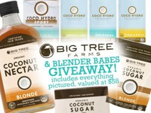 BIG TREE FARMS GIVEAWAY