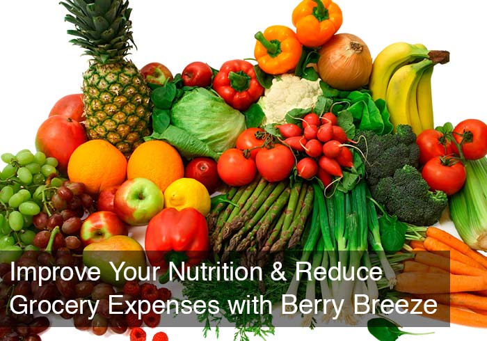 Improve Your Nutrition & Reduce Grocery Expenses with Berry Breeze