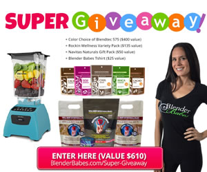 Blendtec Rockin Wellness Navitas Super Giveaway via @BlenderBabes