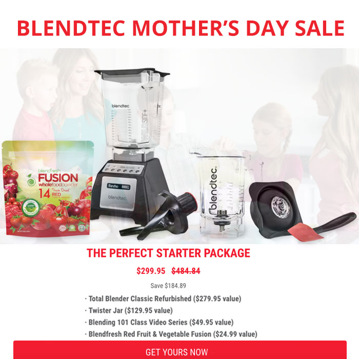 Refurbished Blendtec are available and ship free to the USA and Canada! Most Refurbished Vitamix are ONLY available to the USA. There are Refurbished Vitamix Canada options available only to Canada.
