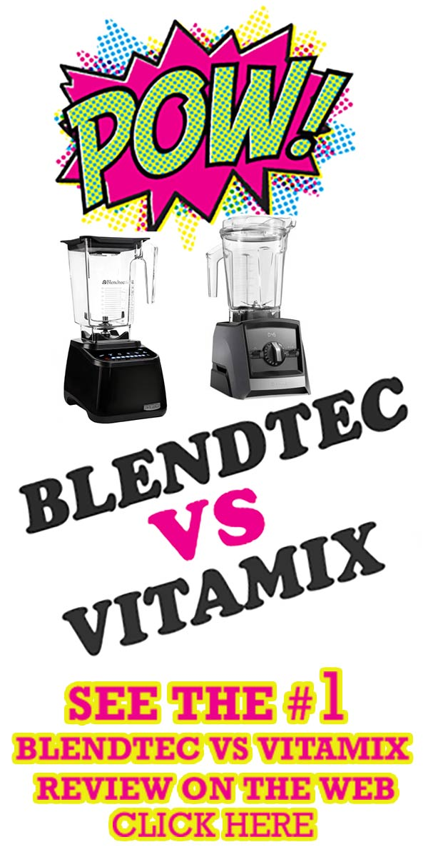 Blendtec vs Vitamix Review PIN