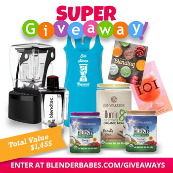 Blendtec Pro 800 Super Giveaway