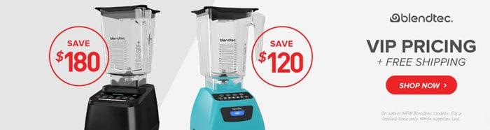 Blendtec Sale no coupon code needed