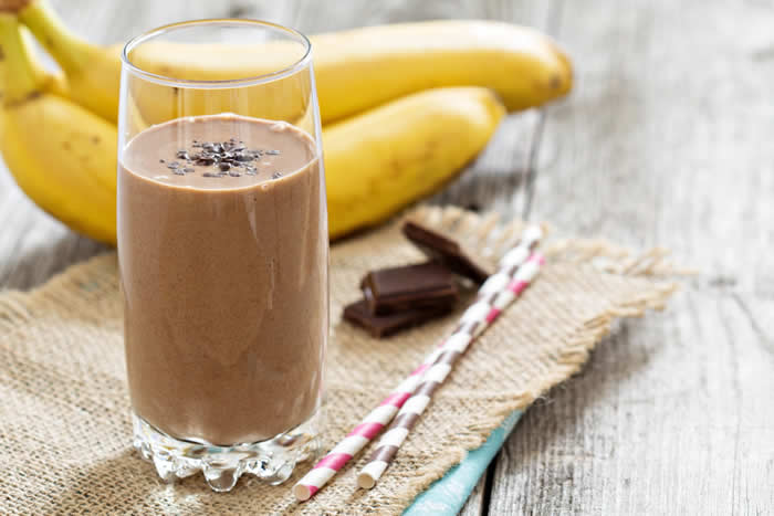 Smoothies for Kids - Chocolate Choconana Banana Smoothie