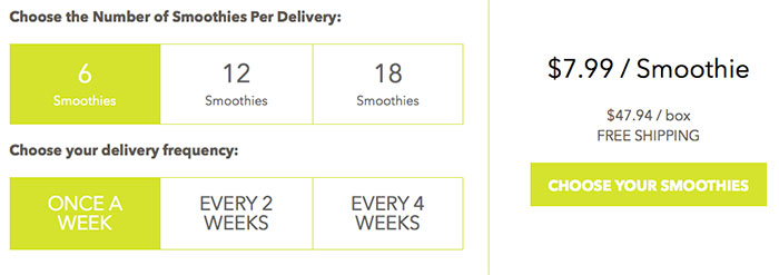 Daily Harvest Smoothie Review - A Meal Delivery Service You Need to Try by @BlenderBabes