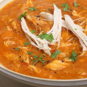 Chunky Chicken Tortilla Soup Recipe