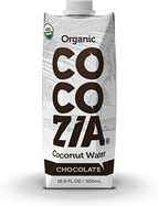 CocoZia 100 Percent Organic Chocolate Coconut Water Natural & Organic Product Copmany Favorites at Natural Product Expo by @BlenderBabes