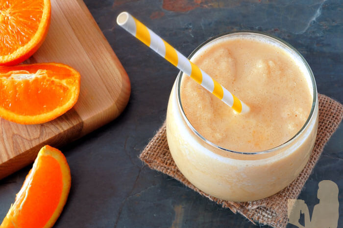 Copycat Jamba Juice Orange Julius Smoothie
