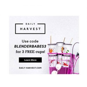 Daily Harvest Coupon Code