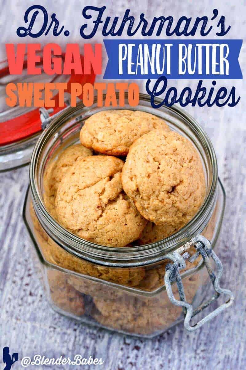 Sweet Potato Cookies Vegan by Dr. Fuhrman