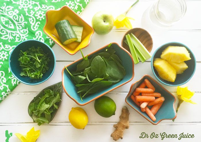 Dr Oz Green Juice Recipe by Blender Babes