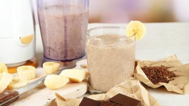 Dr Oz Morning Mocha Smoothie Recipe with Yerba Mate Benefits by @BlenderBabes